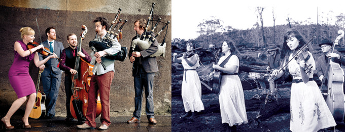 March 11th 2015 The Melbourne Folk Club BREABACH (SCOTLAND) + STRAY HENS