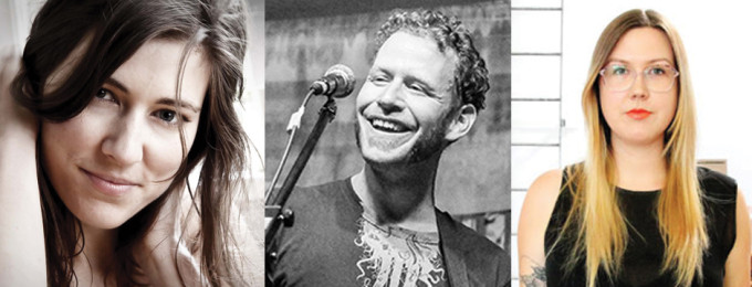 March 4th 2015 The Melbourne Folk Club RUTH MOODY + BAND (CANADA) + SCOTT COOK (CANADA) + NADIA REID (NZ)