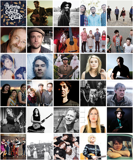 The Melbourne Folk Club Summer Season 2015
